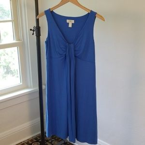 Ann Taylor Loft Blue Summer Dress